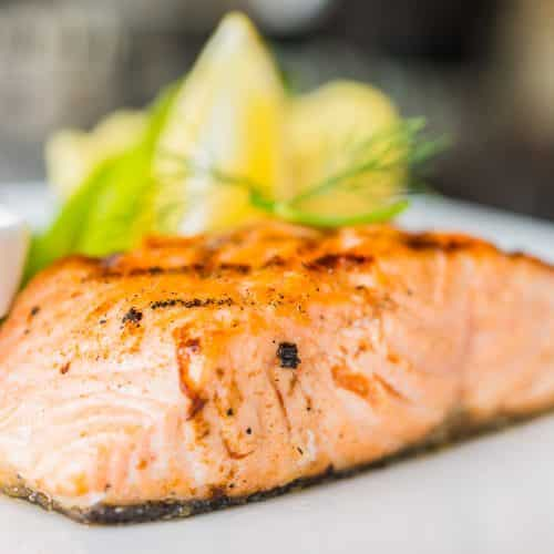 Baked Alaskan Salmon with Ginger-Citrus – Sucralose